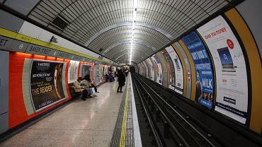 Stacja metra Baker Street w Londynie (zdj. z 2009 roku)