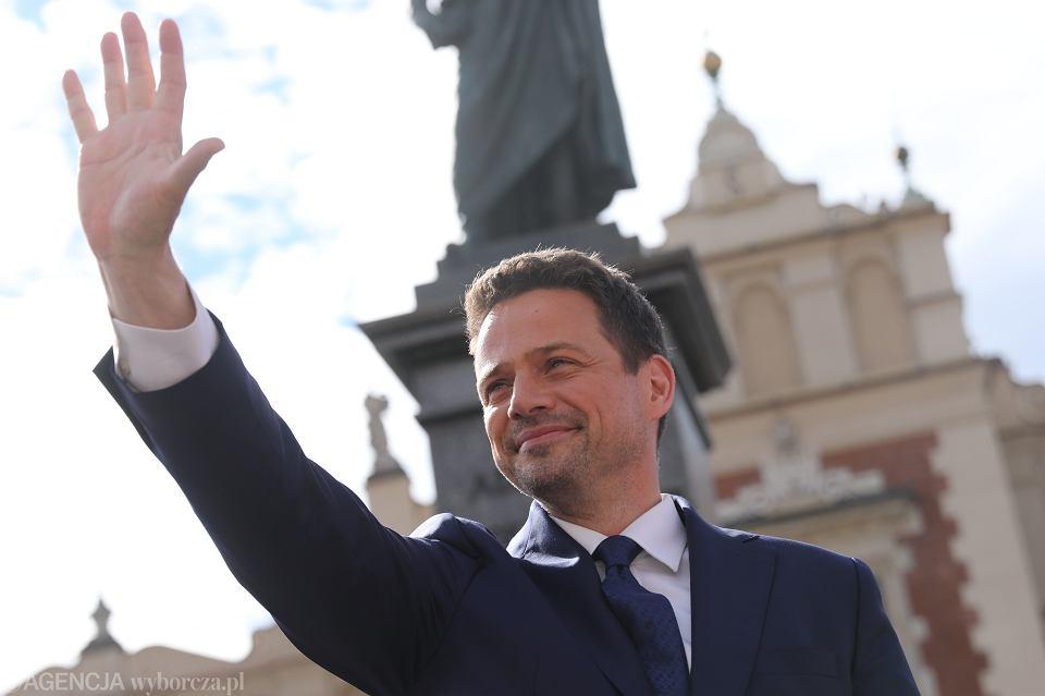 Rafał Trzaskowski. Hasło wyborcze kampanii. Koalicja Obywatelska. Wybory prezydenckie 2020