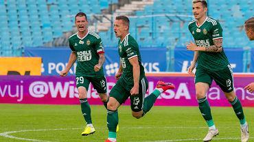 Mecz Wisła Płock - Śląsk Wrocław rozegrano przy pustych trybunach