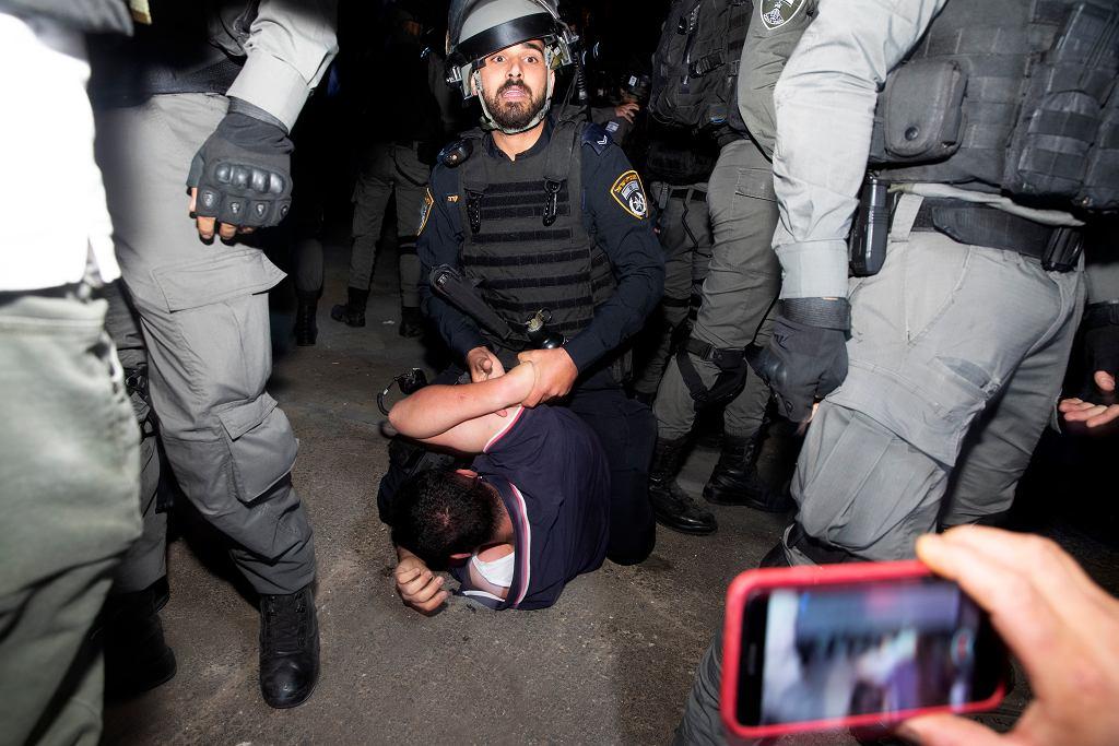 Protest w obronie Asz-Szajch Dżarrah