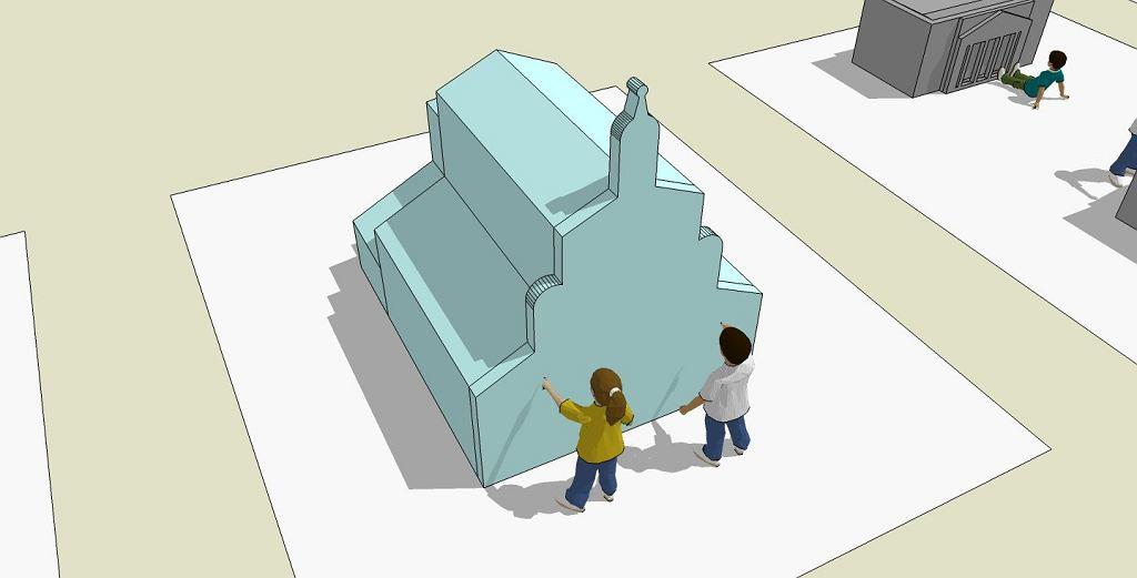 Demolka kontrolowana, czyli wystawa dla dzieci 'Architektura w ruchu' w Soho Factory