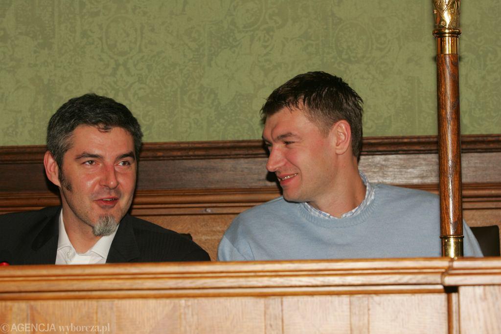 Maciej Zieliński i Adam Wójcik