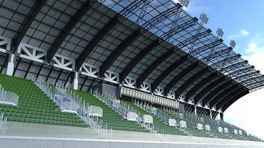 Projekt Podkarpackiego Centrum Piłki Nożnej w Stalowej Woli
