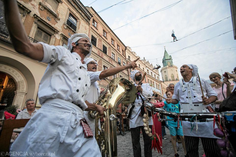 Stare Miasto w Lublinie. Carnaval Sztukmistrzów