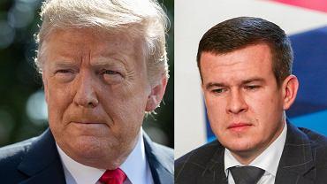 Donadl Trump i Witold Bańka