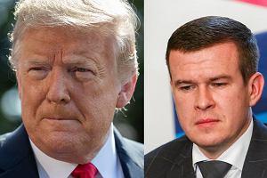 Witold Bańka w konflikcie z ludźmi Trumpa. Dostaje rykoszetem. Raport to straszak czy odwet?