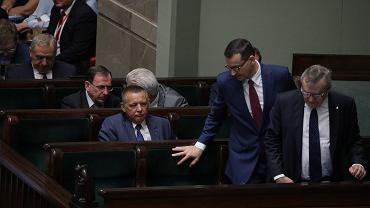Marian Banaś w Sejmie (2019 r.)