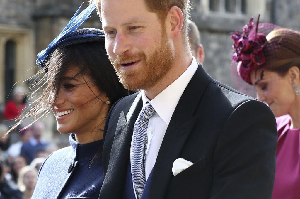 Meghan Markle i książę Harry na ślubie księżniczki Eugenii