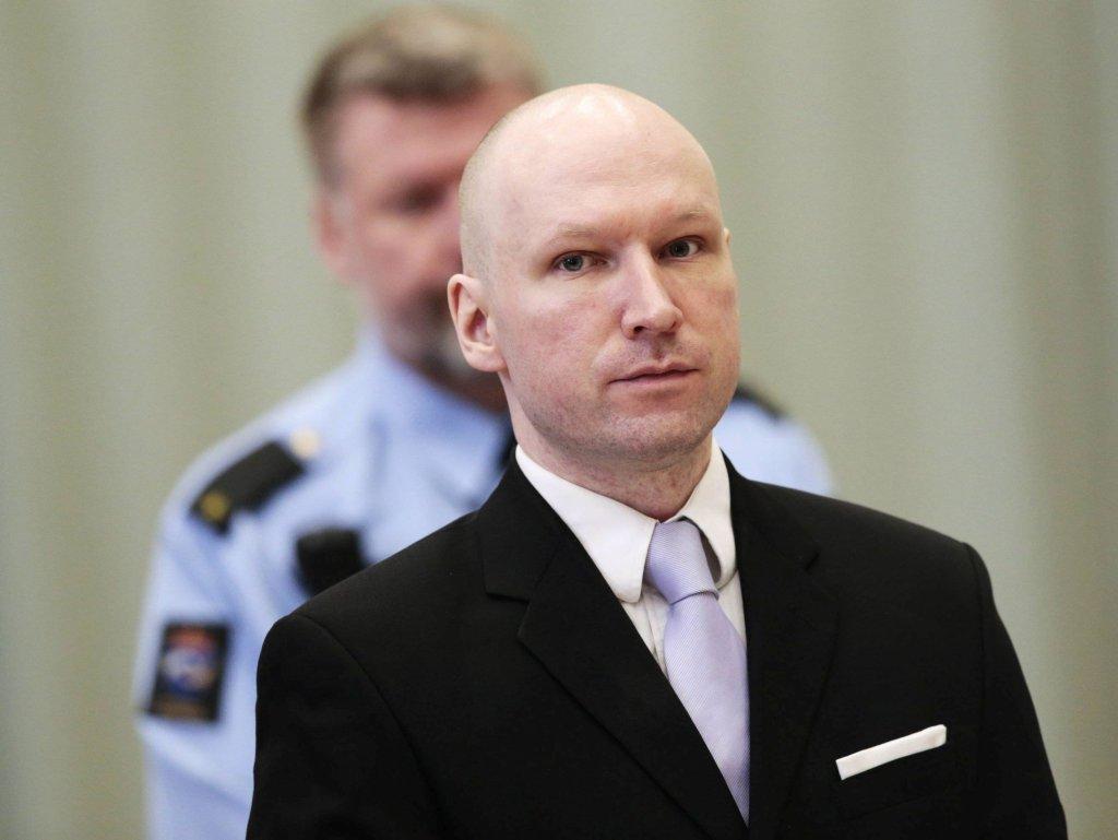 Anders Behring Breivik (fot. NTB SCANPIX / REUTERS)