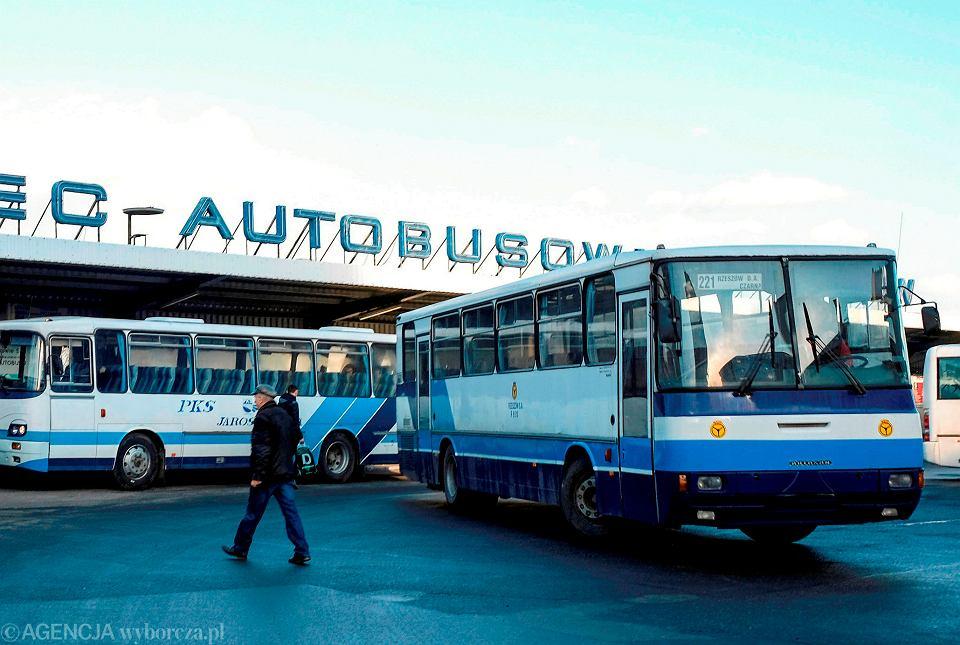 Dworzec autobusowy PKS w Rzeszowie