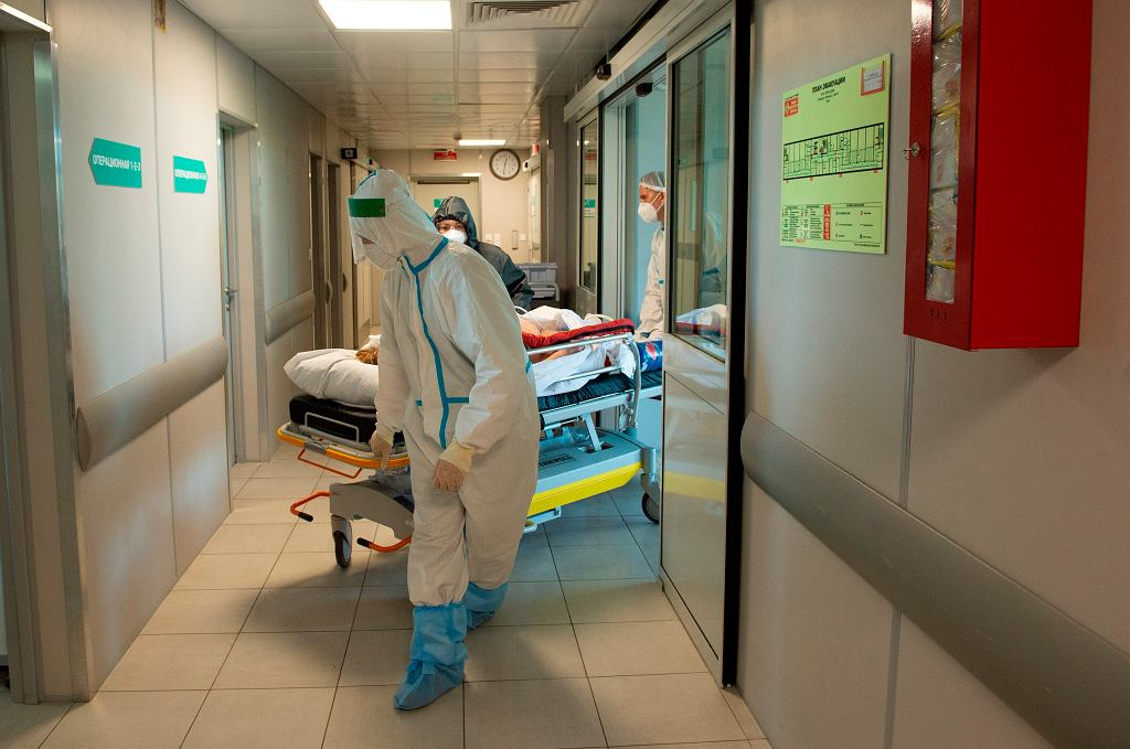 Koronawirus. Sytuacja w Rosji
