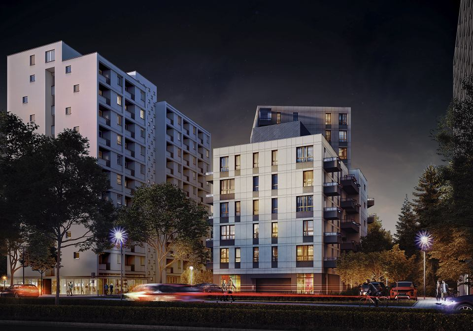 Odległości od sąsiednich budynków są zgodne z przepisami budowlanymi - zapewniają przedstawiciele firmy Eco-Classic.