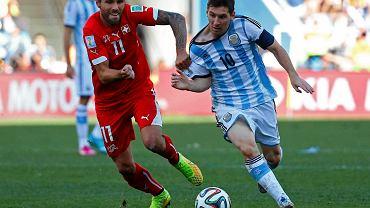 Valon Behrami i Lionel Messi