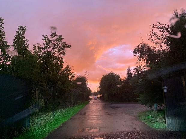 Niezwykłe niebo nad Warszawą