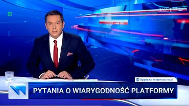 Główne wydanie 'Wiadomości', 28 września 2019.