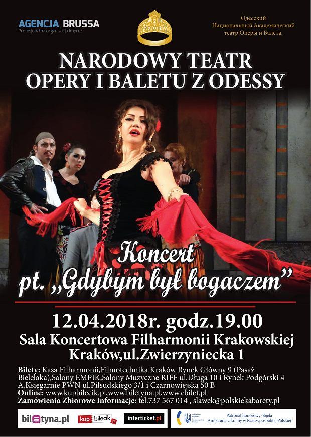 Koncert 'Gdybym Był Bogaczem' w Krakowie