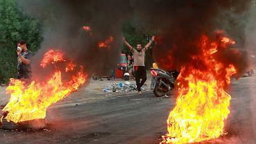 Manifestacje w Iraku