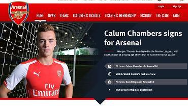 Calum Chambers w Arsenalu