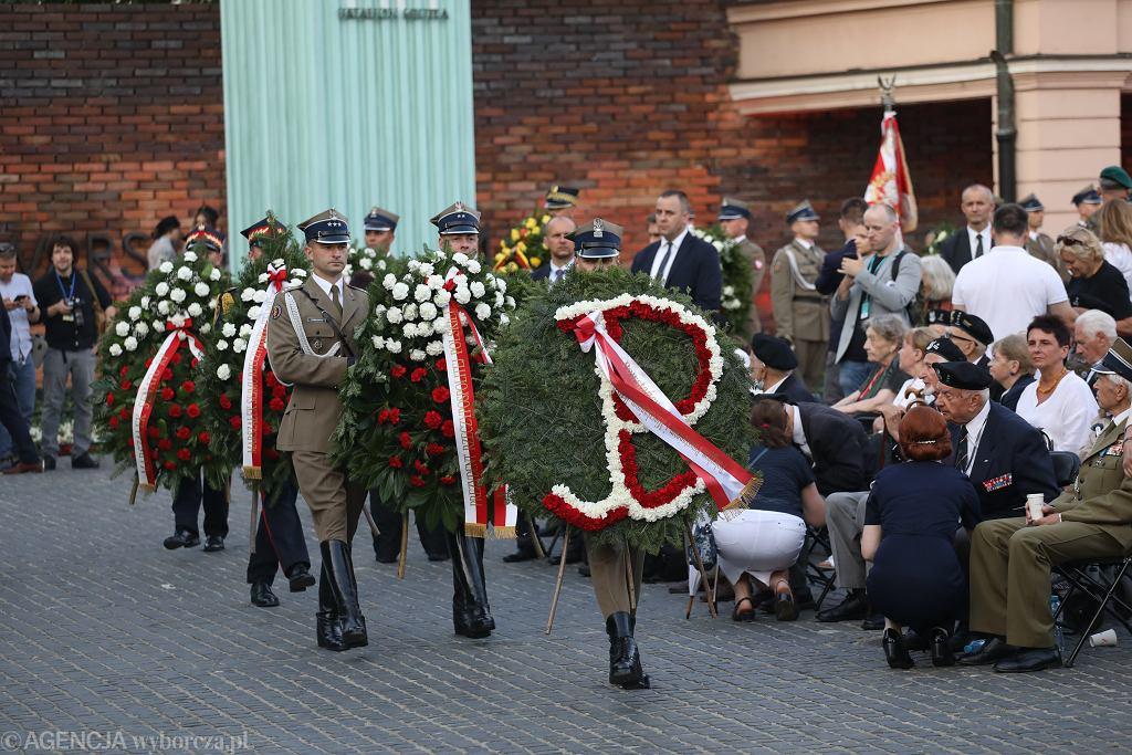 Obchody 77. rocznicy Powstania Warszawskiego