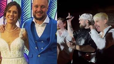 Solar już po ślubie! Na weselu pierwsza liga polskiego rapu. Mata, Bedoes i Białas złapali za mikrofony. Jest nagranie