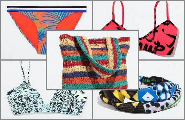 Plażowa kolekcja Zara na lato 2014