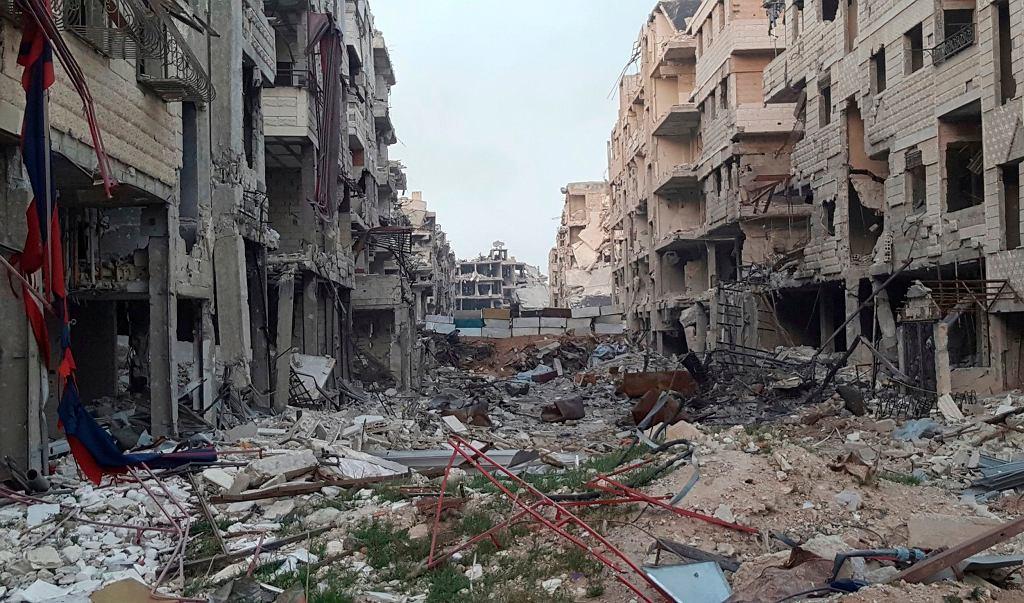 Zniszczenia we Wschodniej Ghucie