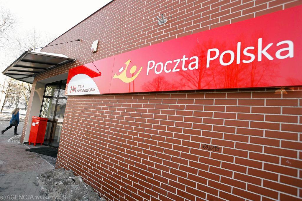 Placówka Poczty Polskiej.