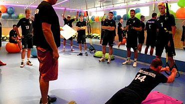 siatkówka, trening Cerradu Czarnych Radom