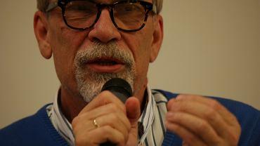 Jacek Żakowski podczas spotkania w Rzeszowie