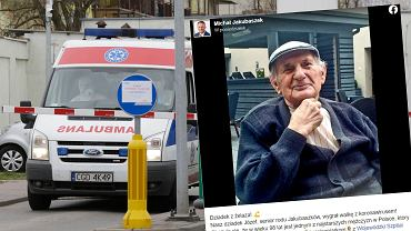 98-letni pan Józef pokonał koronawirusa