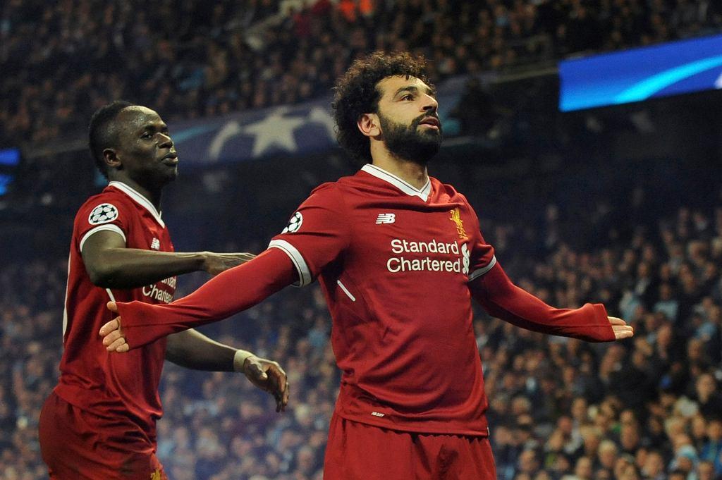 Mohamed Salah, mecz Manchester City - Liverpool