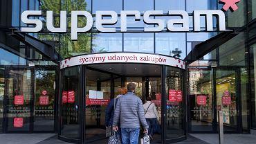 Zakupy w dobie pandemii koronawirusa. Katowice, 4 maja 2020