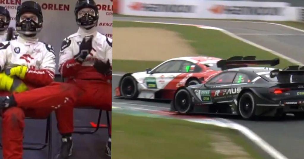 Manewr, który dał Robertowi Kubicy pierwsze podium w DTM