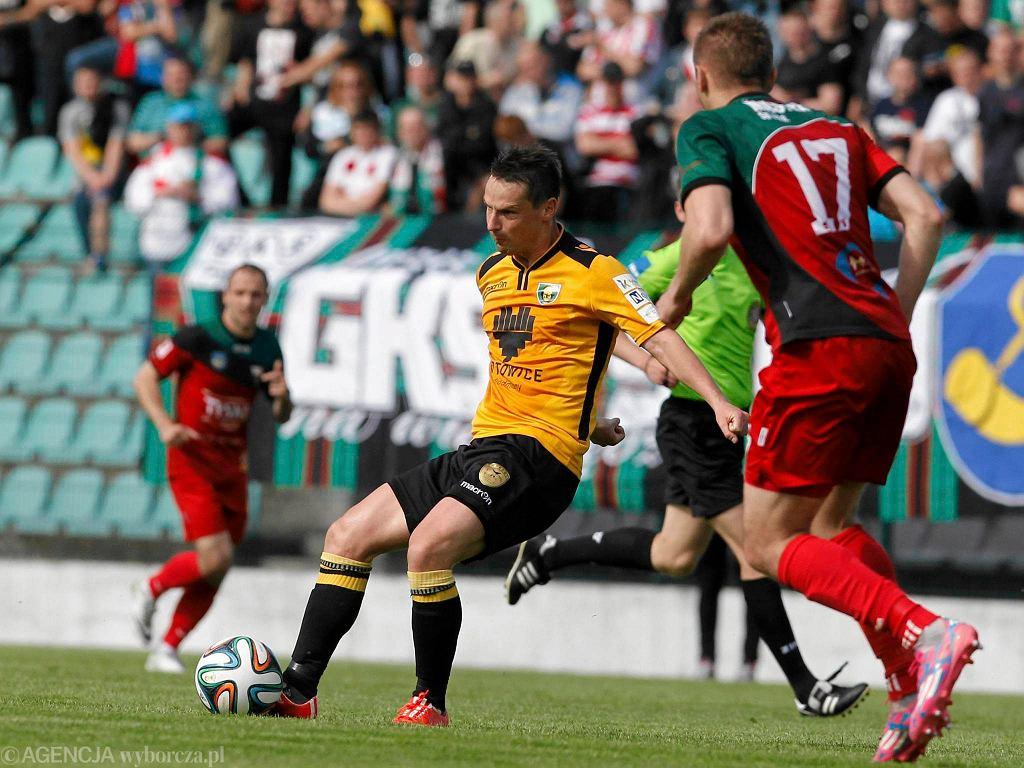 Jaworzno. GKS Tychy - GKS Katowice 0:3. Grzegorz Goncerz