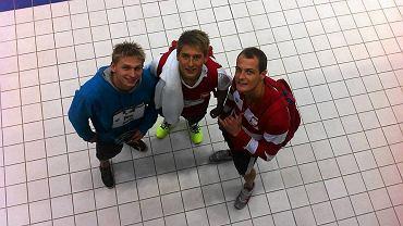 Radosław Kawęcki, Filip Zaborowski i Paweł Korzeniowski - członkowie reprezentacji