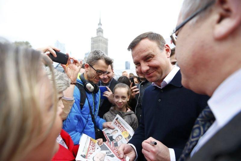 Andrzej Duda podczas kampanii przed II turą wyborów prezydenckich dużo naobiecywał