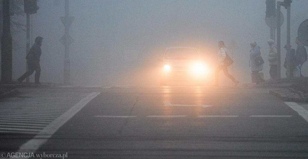 Mgła (zdjęcie ilustracyjne)