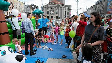 Dzień Dziecka 2015 na katowickim rynku