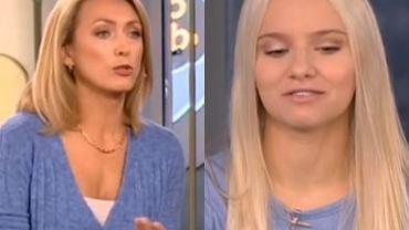Nikola z 'Top Model' w 'DD TVN'