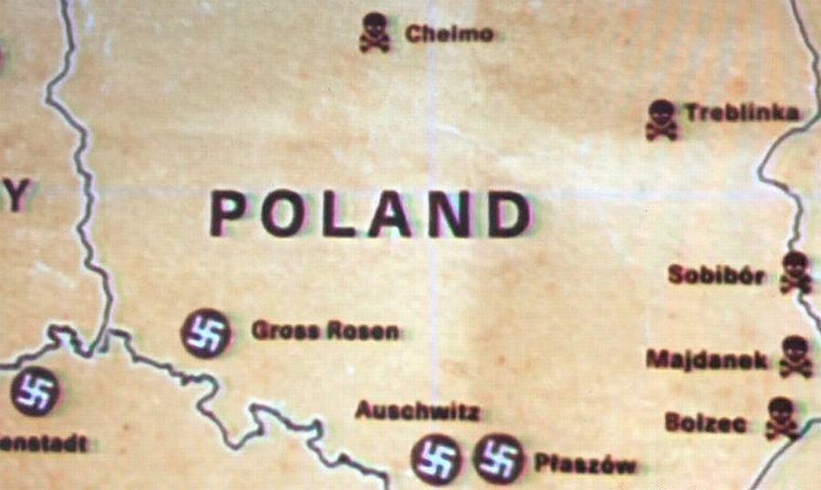 Mapa z serialu 'Iwan Groźny z Treblinki'