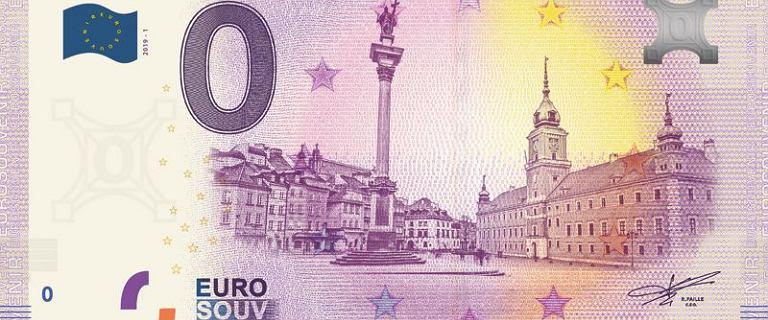 Polski banknot 0 euro z wizerunkiem Warszawy do nabycia już niedługo