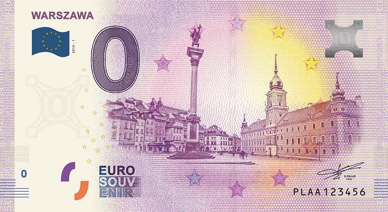 Banknot 0 euro