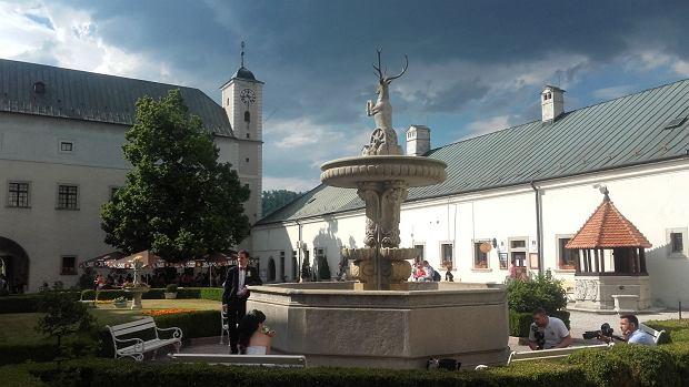 Zamek Cerveny Kamen na Słowacji
