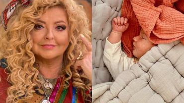 Magda Gessler i jej wnuczka Neną Gessler-Szeląg