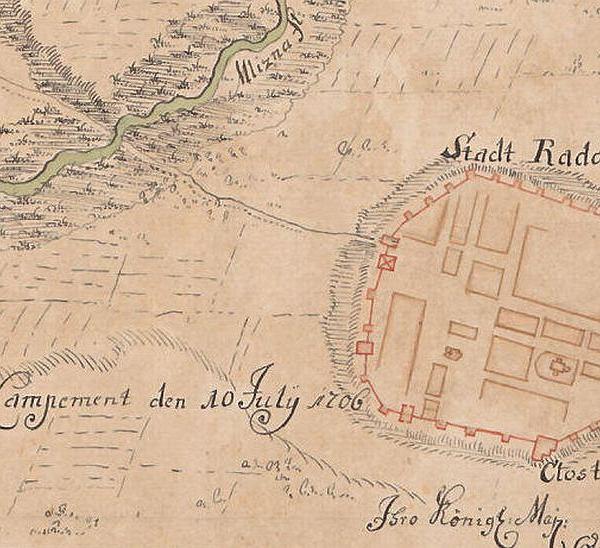 Najstarsza Mapa Radomia Ma Ponad 300 Lat Zostala Odkryta W Austrii