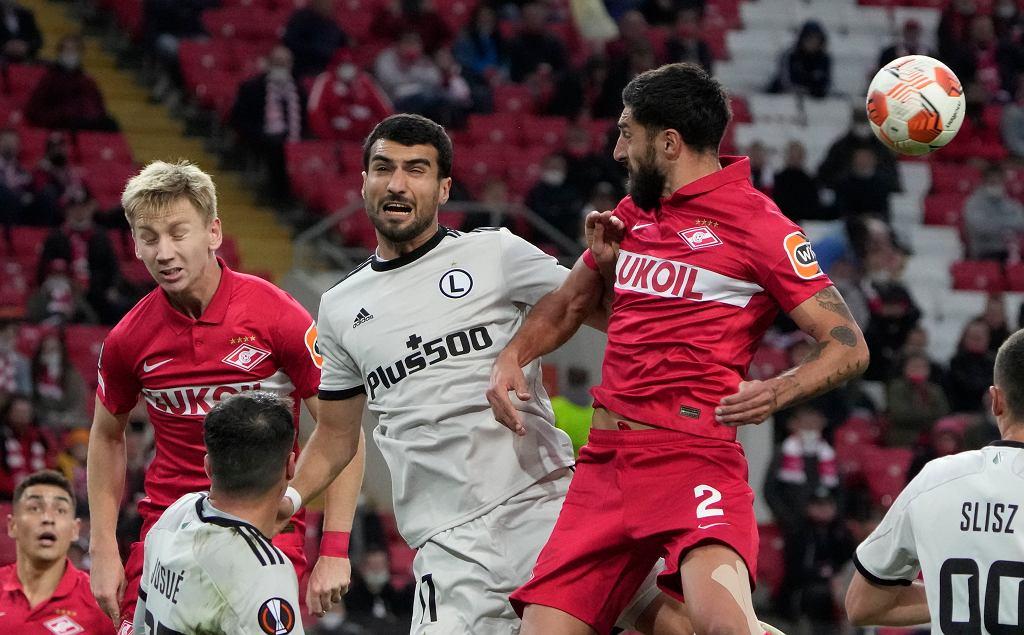 Liga Europy. Sytuacja w tabeli po meczu Spartak Moskwa - Legia Warszawa
