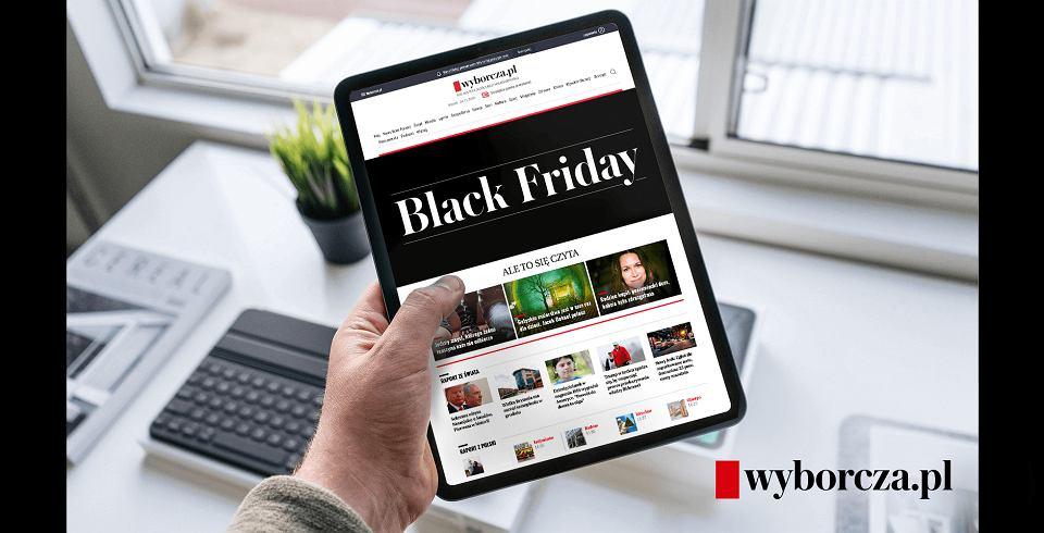 Black Friday 2020: promocja na prenumeratę Wyborcza.pl