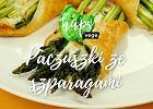 Paczuszki z ciasta francuskiego ze szparagami z miodem tymiankowym [HAPS VEGE]
