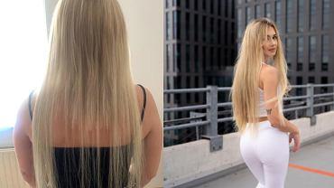 Włosy wykonane w salonie Hollywood Hair