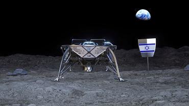 Zapowiedź izraelskiej misji na księżyc.
